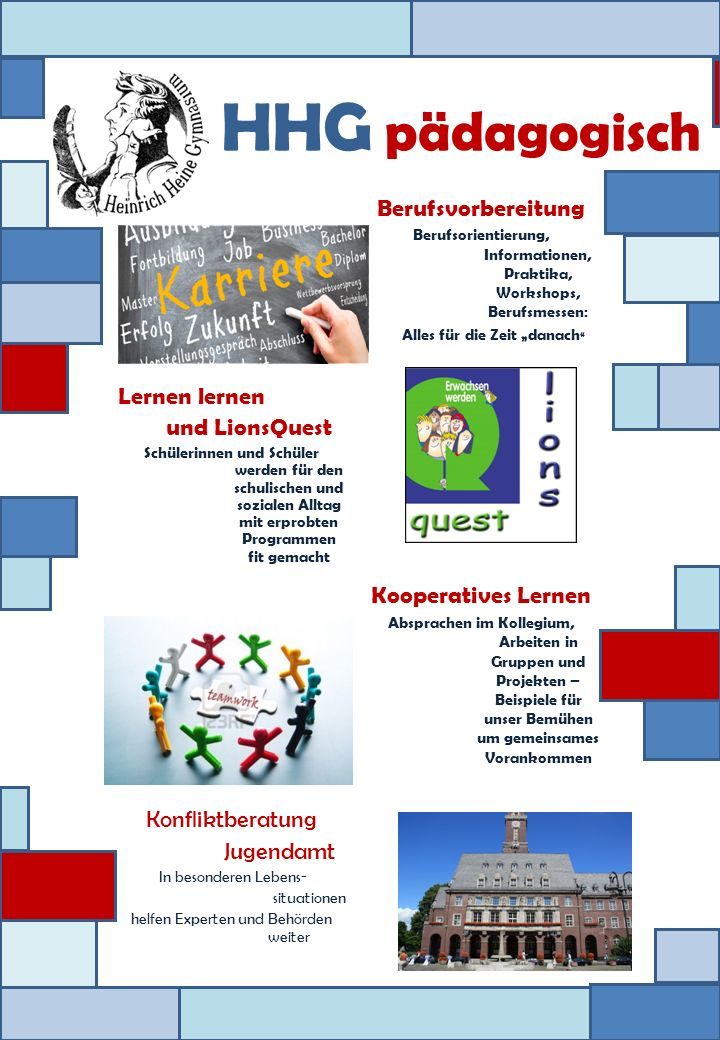 Lernen lernen und LionsQuest Schülerinnen und Schüler werden für den schulischen und sozialen Alltag mit erprobten Programmen fit gemacht Konfliktbera