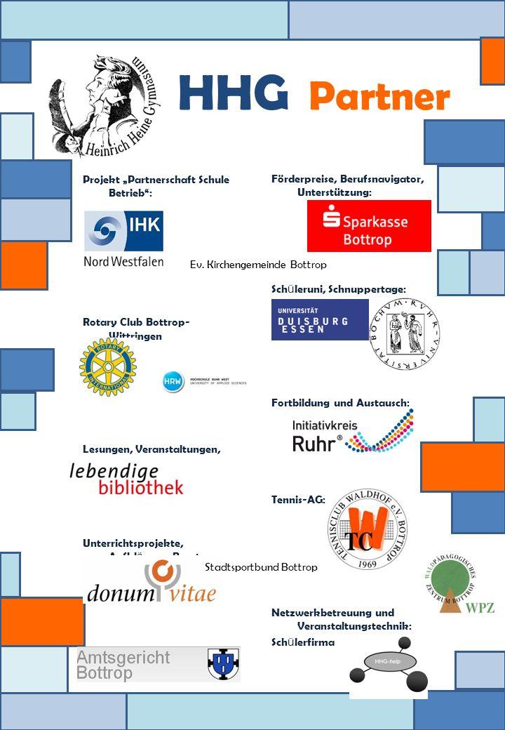 Projekt Partnerschaft Schule Betrieb: Rotary Club Bottrop- Wittringen Lesungen, Veranstaltungen, Lesefreude: Unterrichtsprojekte, Aufkl ä rung, Beratu