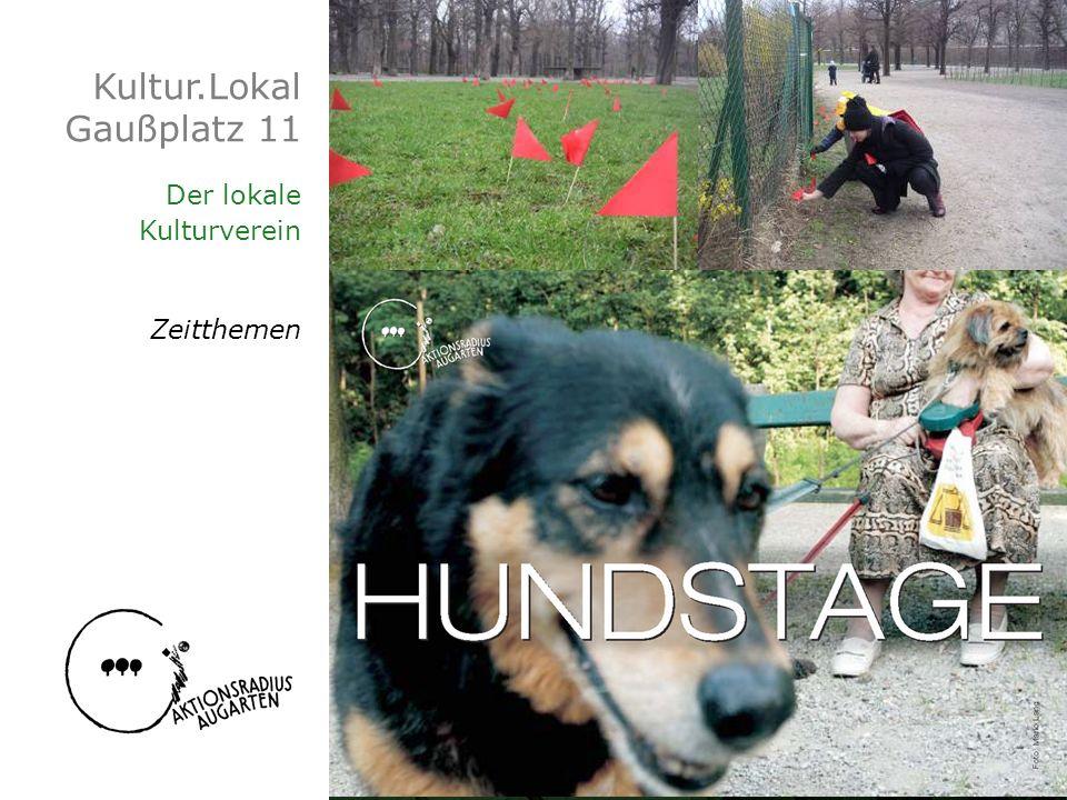 Kultur.Lokal Gaußplatz 11 Der lokale Kulturverein Zeitthemen