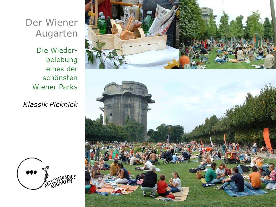 Der Wiener Augarten Die Wieder- belebung eines der schönsten Wiener Parks Klassik Picknick