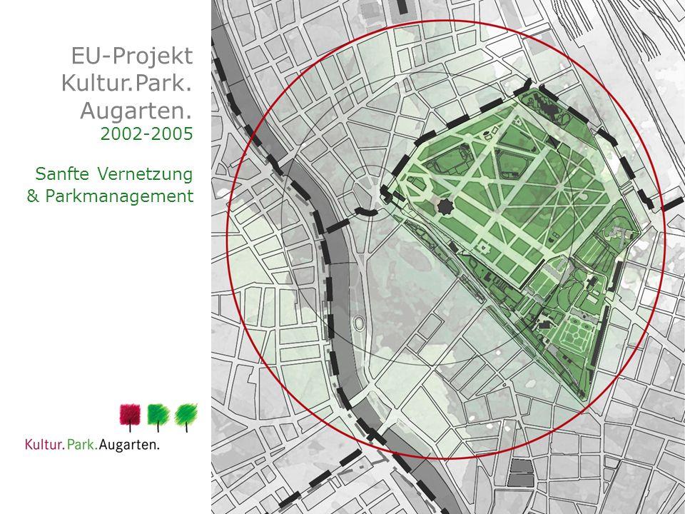 EU-Projekt Kultur.Park. Augarten. 2002-2005 Sanfte Vernetzung & Parkmanagement