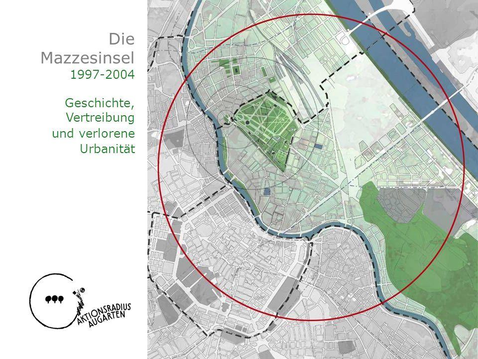 Die Mazzesinsel 1997-2004 Geschichte, Vertreibung und verlorene Urbanität