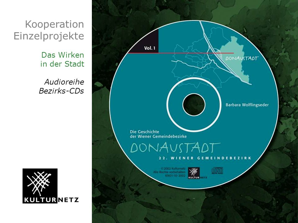 Kooperation Einzelprojekte Das Wirken in der Stadt Audioreihe Bezirks-CDs