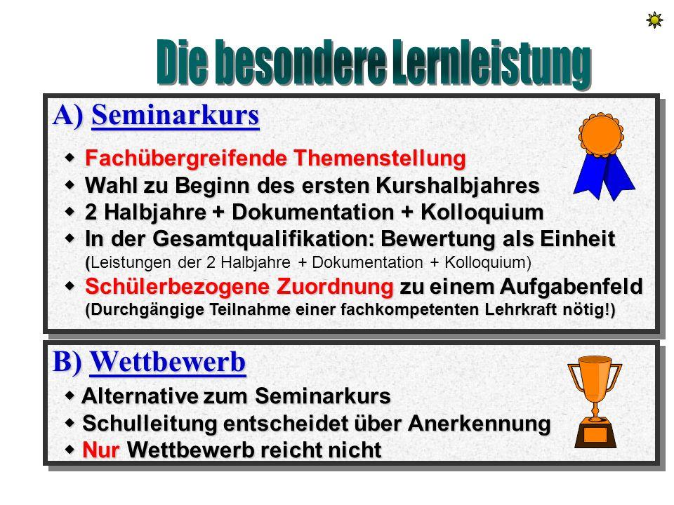 Übersicht der Fächer Wechselnde Zuordnung Ohne Zuordnung III mathematisch- naturwissenschaftlich II gesellschaftswissen- schaftlich I sprachlich-liter
