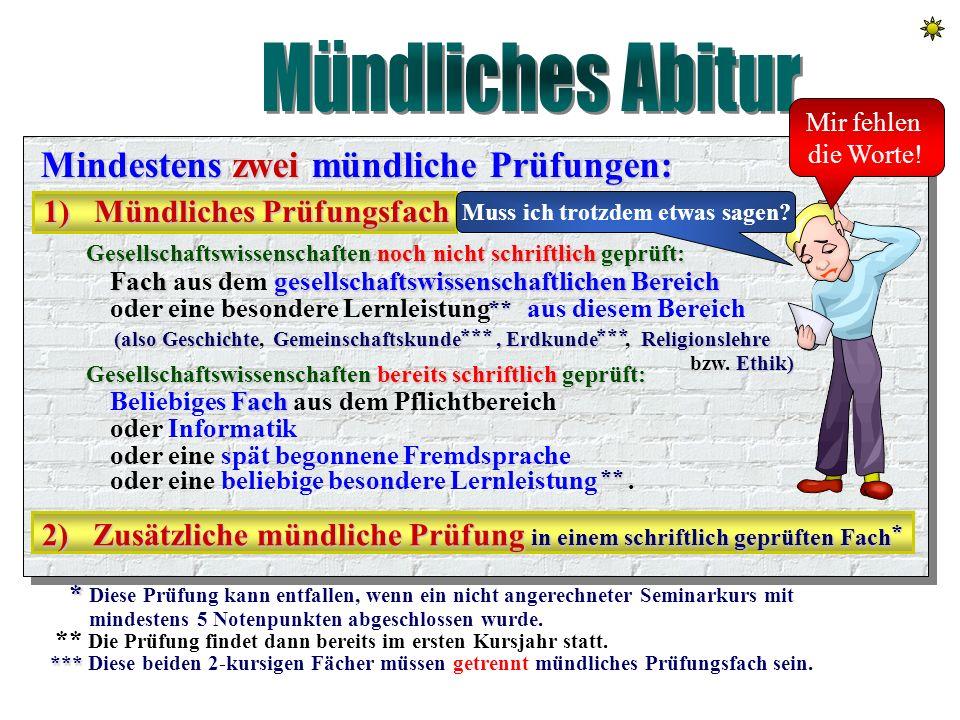 Schriftliches Abitur Vier schriftliche Prüfungsfächer, die 3 Kernkompetenzfächer und das Neigungs - Neigungs - oder oder das Profilfach Profilfach. De
