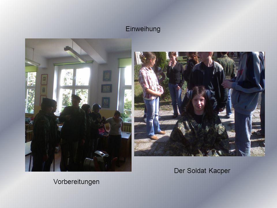 Vorbereitungen Der Soldat Kacper
