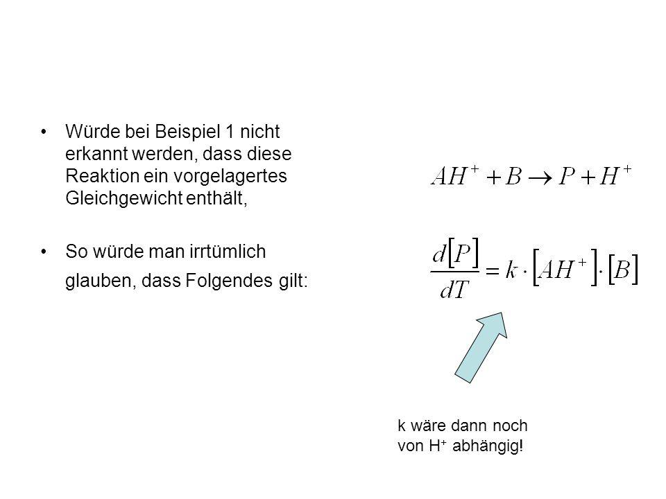 Wie seht das Temperaturprofil der zusammen- gesetzten Geschwindigkeits- konstante aus.