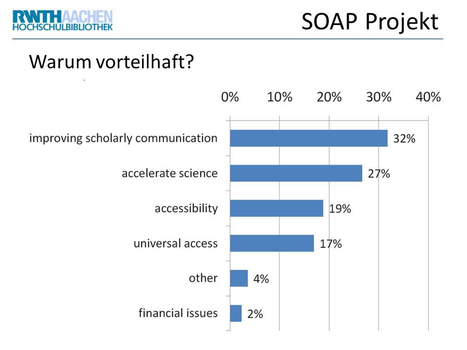 SOAP Projekt Warum vorteilhaft?