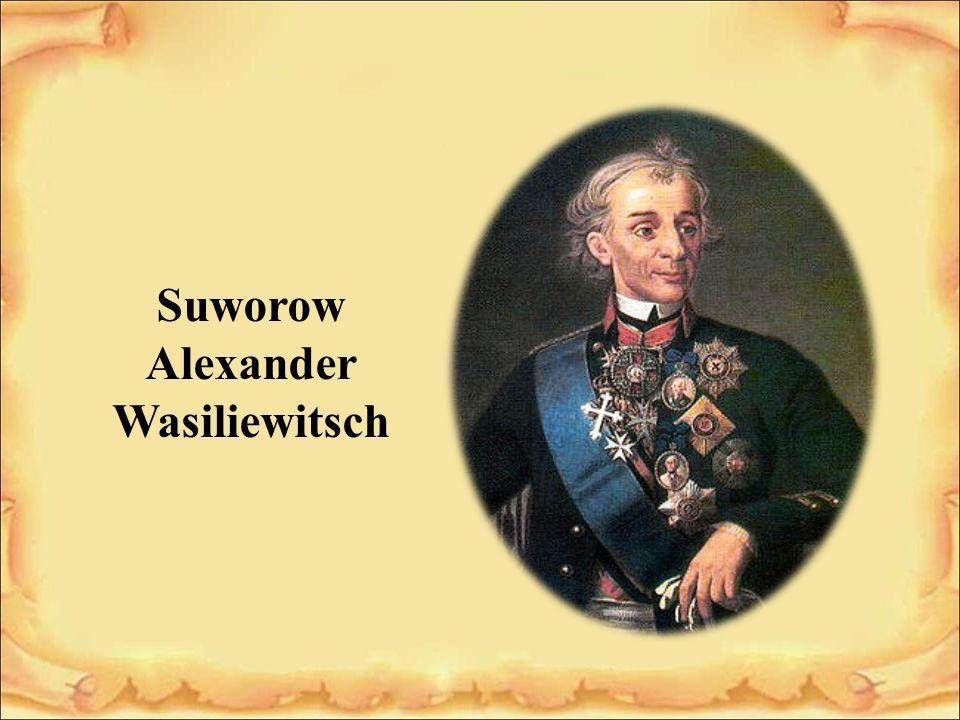 Suworow Alexander Wasiliewitsch