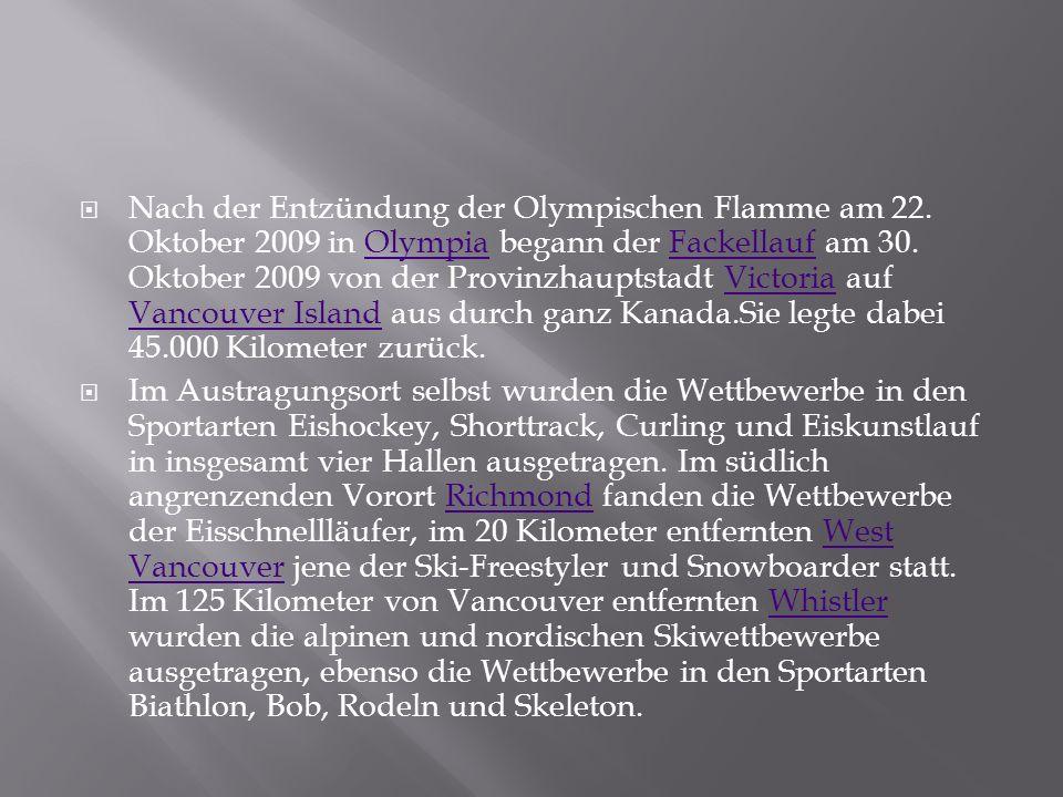 Über die genaue Durchführung des Programms entschied der IOC-Exekutivrat bei seiner Sitzung im November 2006 in Kuwait.
