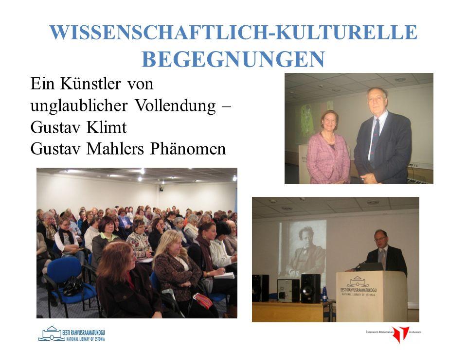Ein Künstler von unglaublicher Vollendung – Gustav Klimt Gustav Mahlers Phänomen