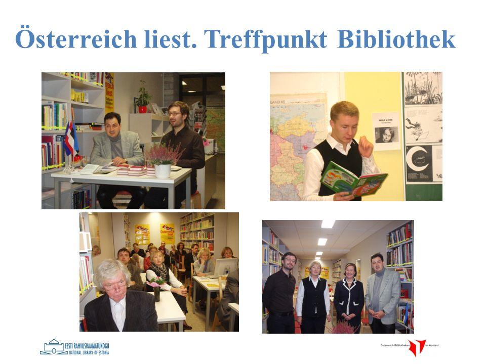 Österreich liest. Treffpunkt Bibliothek