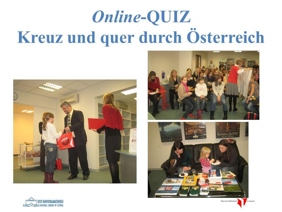 Online-QUIZ Kreuz und quer durch Österreich