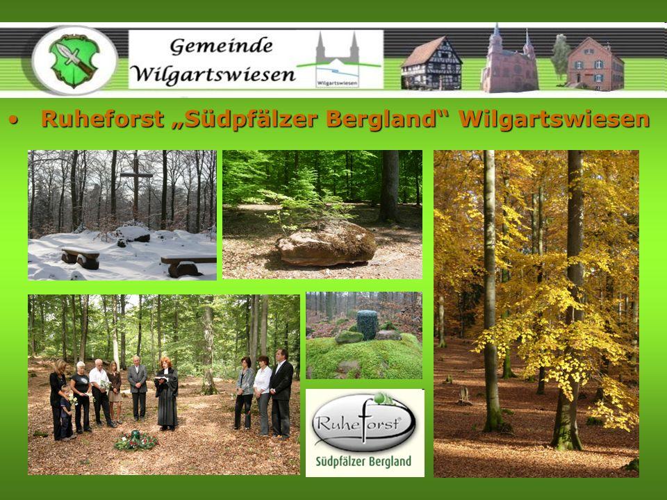 Ruheforst Südpfälzer Bergland WilgartswiesenRuheforst Südpfälzer Bergland Wilgartswiesen