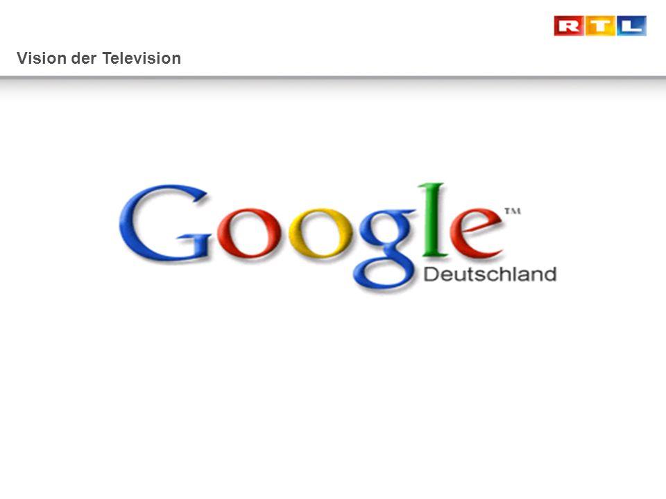 Vision der Television