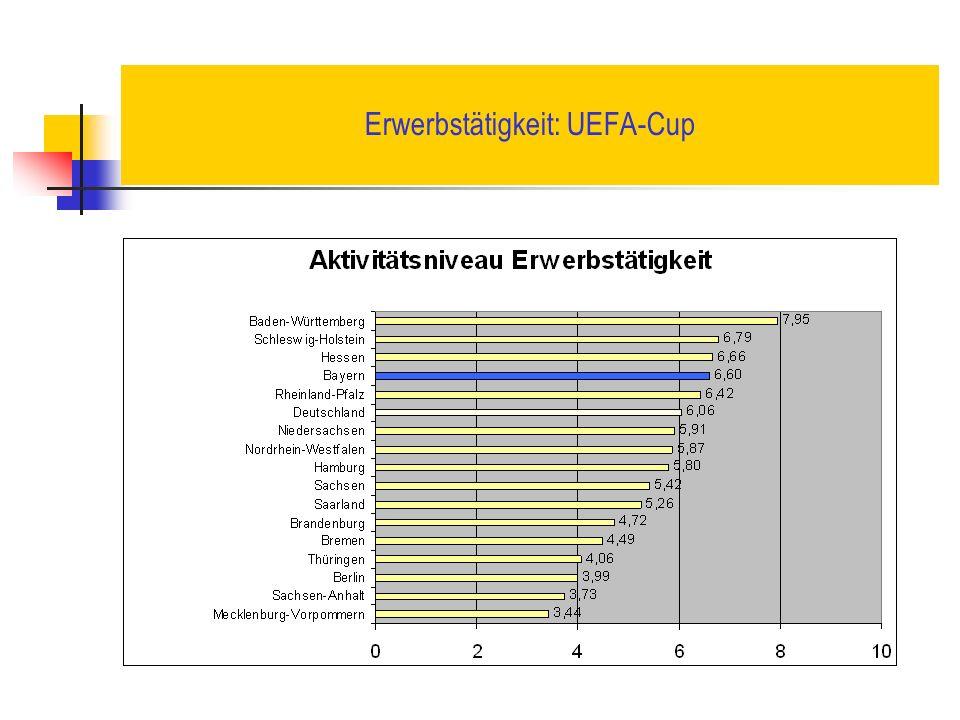 Erwerbstätigkeit: UEFA-Cup