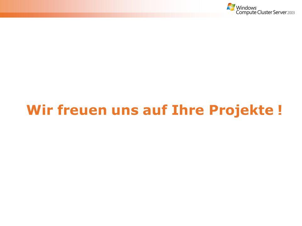 Wir freuen uns auf Ihre Projekte !