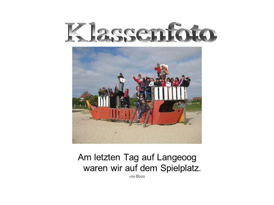 Am letzten Tag auf Langeoog waren wir auf dem Spielplatz. von Bozo