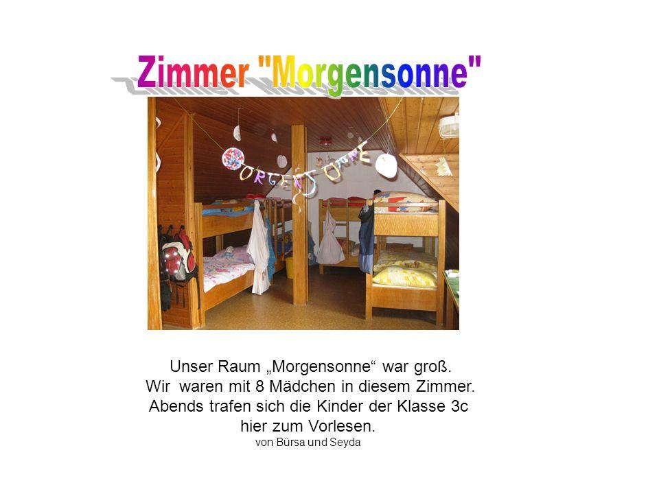 Das Möwennest bekam den 1.Platz im Wettbewerb um das schönste Zimmer. von Fabienne und Emilia
