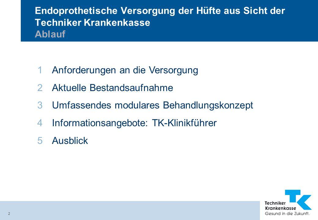 3 Techniker Krankenkasse Zweitgrößte Krankenkasse in Deutschland Über 6,3 Mio.