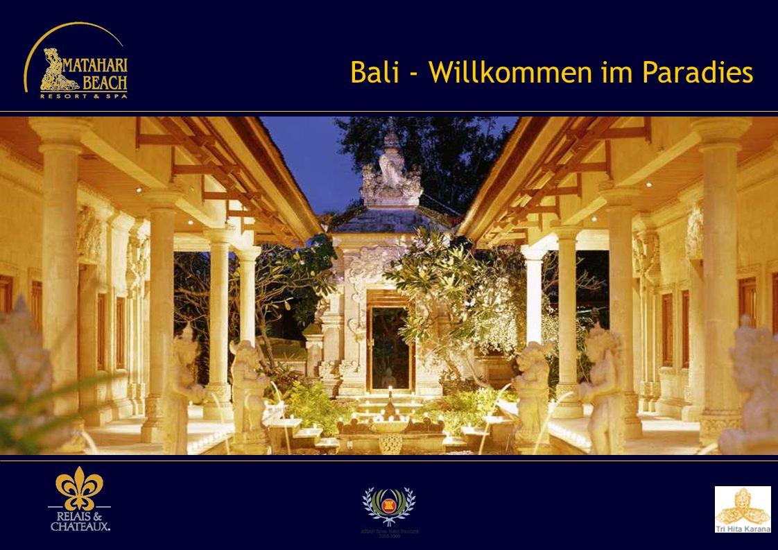 Balis atemberaubende Kulturlandschaften...