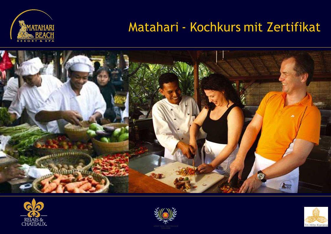 Matahari - Kochkurs mit Zertifikat