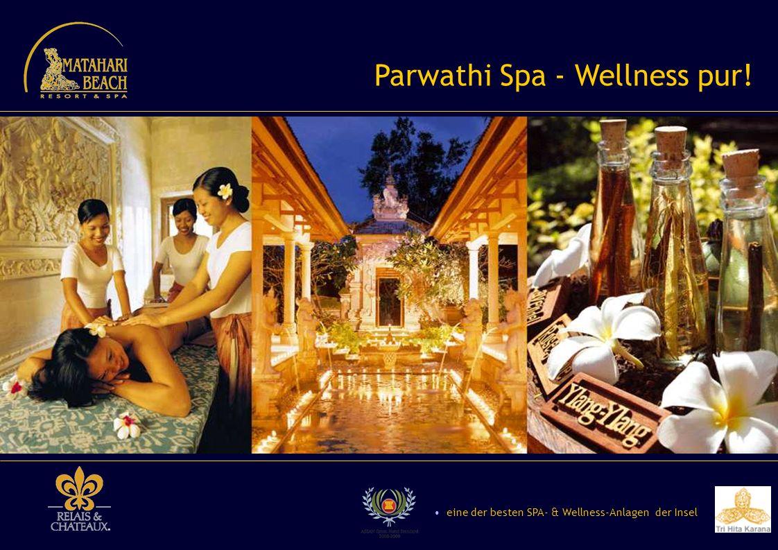 Parwathi Spa - Wellness pur! eine der besten SPA- & Wellness-Anlagen der Insel