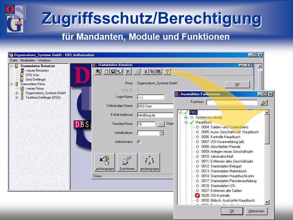 OSG 11 mehrere Funktionen parallel mehrere Anwendungen aktiv Bildschirmanzeigen individuell je Anwender gestaltbar Sachgebietszusammenstellung der Organisation angepasst Die Bedienung Es fehlt wirklich an nichts.