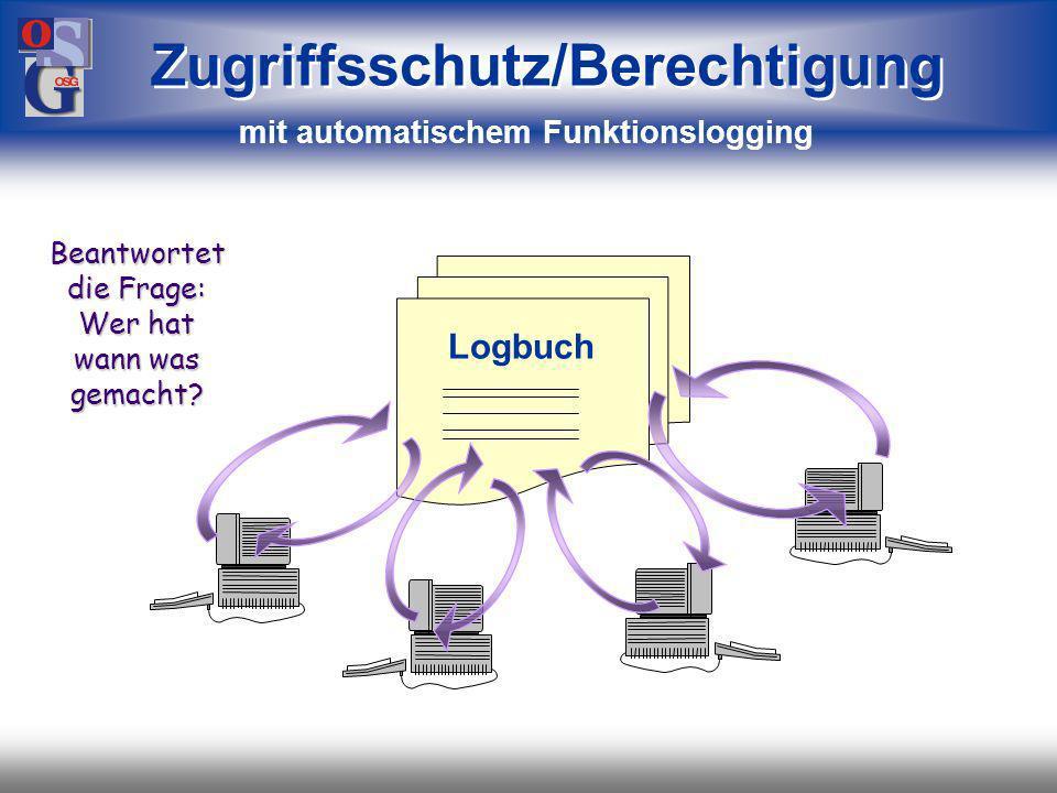 OSG 12 Zugriffsschutz/Berechtigung für Mandanten, Module und Funktionen