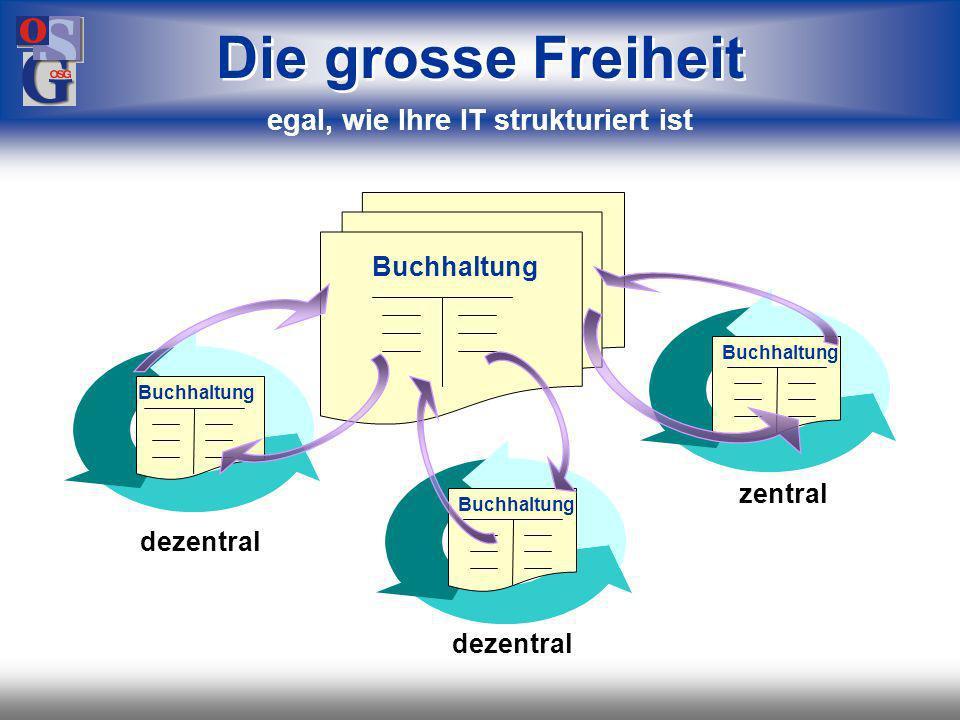 OSG 16 oder Konzern Einzelunternehmen Konto Firma 1 Die grosse Freiheit egal, wie Ihr Unternehmen strukturiert ist