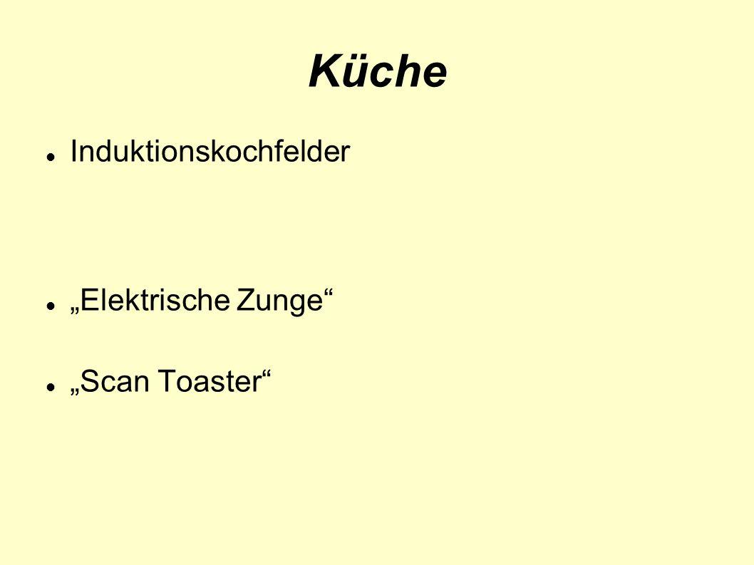 Küche Induktionskochfelder Elektrische Zunge Scan Toaster