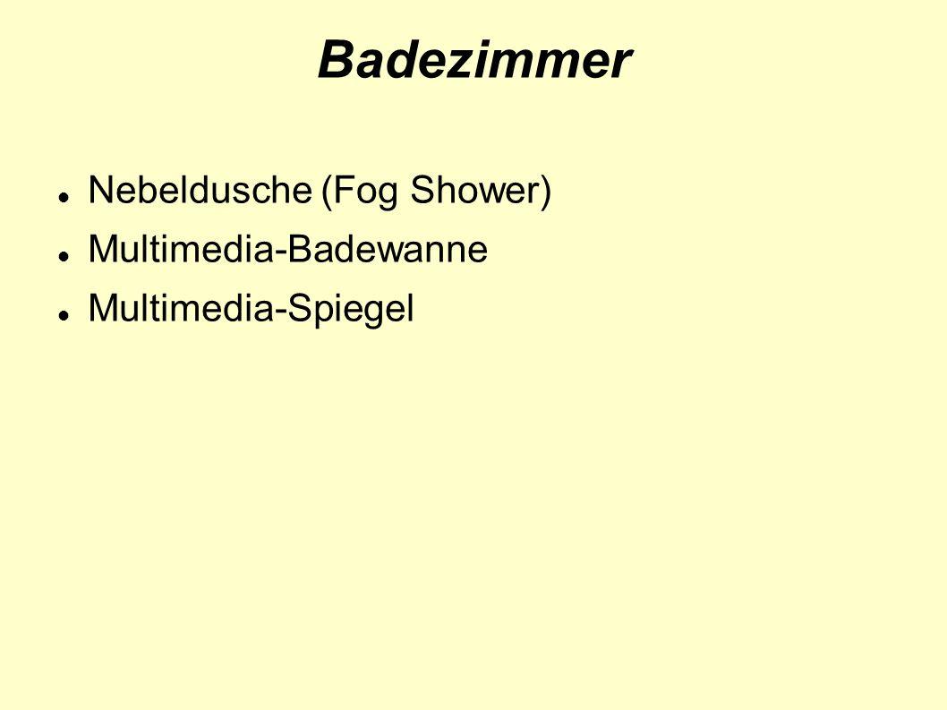 Badezimmer Nebeldusche (Fog Shower) Multimedia-Badewanne Multimedia-Spiegel