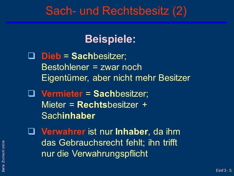 Einf 3 - 16 Barta: Zivilrecht online Realkontrakte – Übersicht qDarlehen §§ 983 ff ABGB Mit BG vom 20.