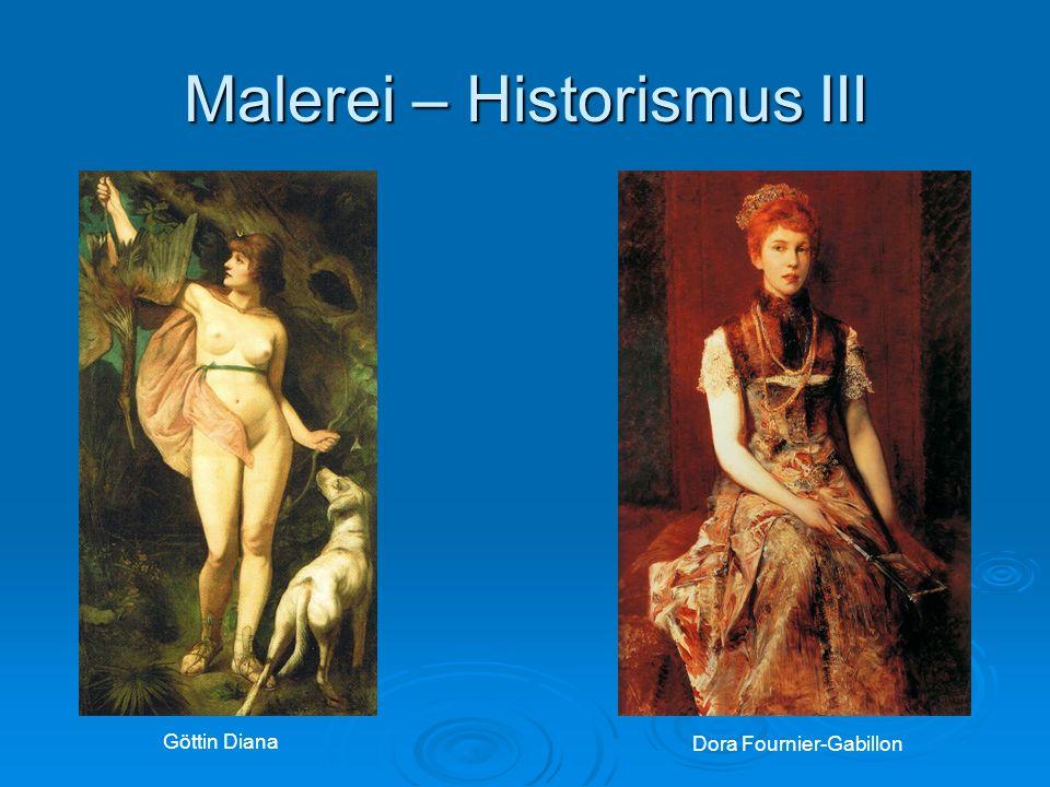 Malerei – Historismus III Göttin Diana Dora Fournier-Gabillon