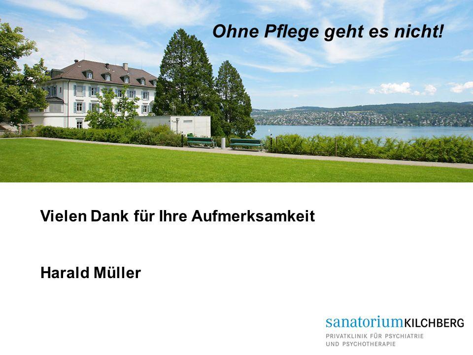 Ohne Pflege geht es nicht! Vielen Dank für Ihre Aufmerksamkeit Harald Müller