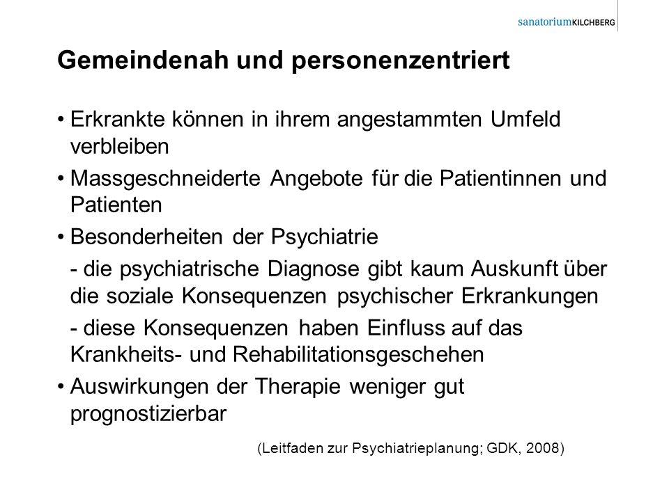 Modellprogramme integrierter psychiatrischer Versorgung GiA Luzern Stadt