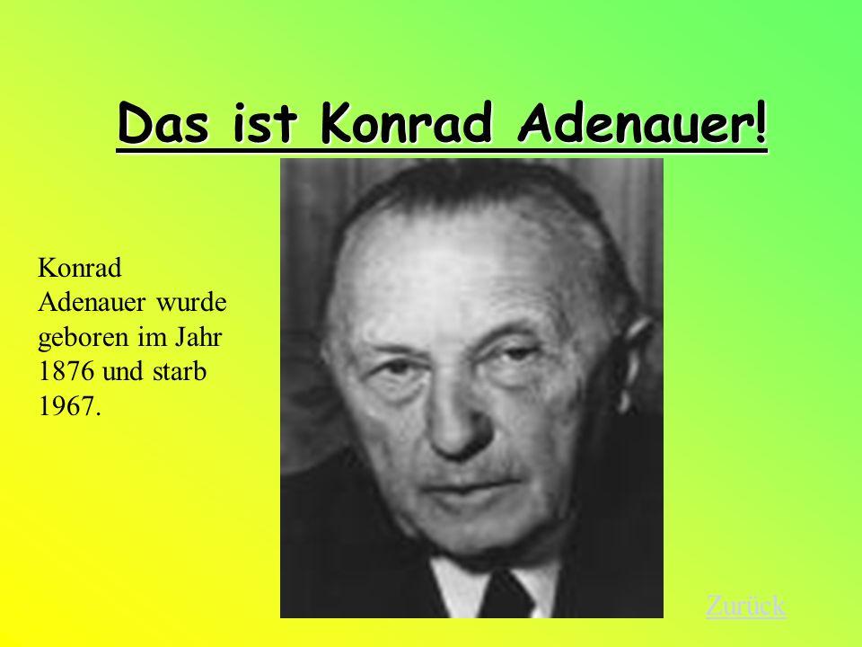Die Ära Adenauer Von 1949-1963 Konrad Adenauer Die Ära Adenauer Ziele Bilder Ludwig Erhard Ende