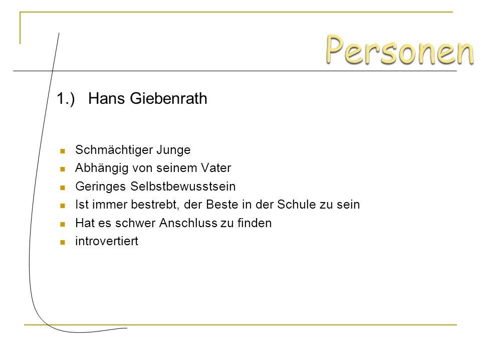 Hans Giebenrath Bestehen des Landexamen Klosterseminar Maulbronn Einzug in die Stube Hellas Freundschaft mit Hermann Heiler Neues Weltbild Hans bekomm
