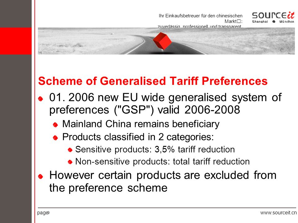Ihr Einkaufsbetreuer für den chinesischen Markt: zuverlässig, professionell und transparent.