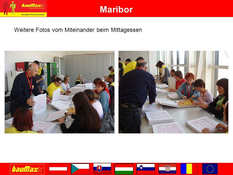Maribor Weitere Fotos vom Miteinander beim Mittagessen