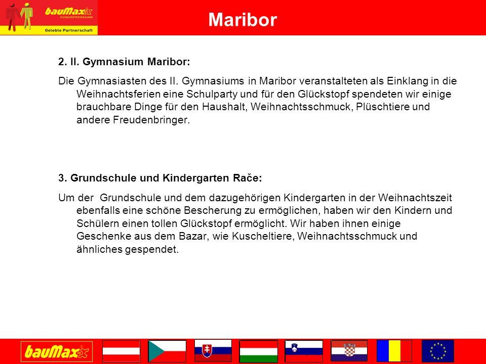 Maribor 2.II. Gymnasium Maribor: Die Gymnasiasten des II.
