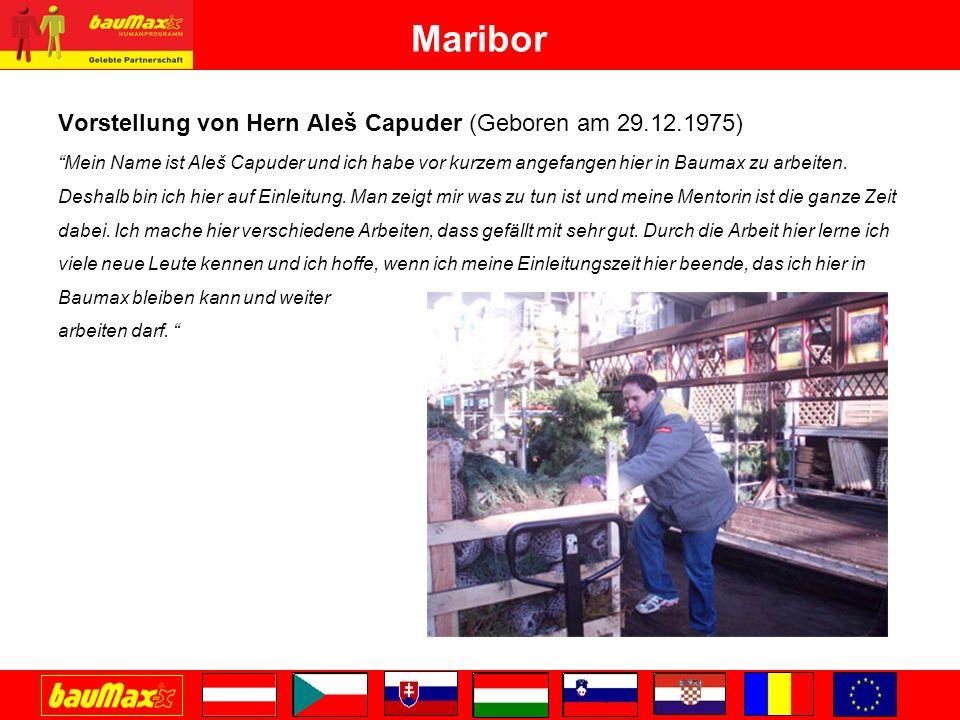 Maribor Alle 4 Schützlinge sind auf unserem Gartencentrum tätig und werden von uns allen als große Bereicherung empfunden.