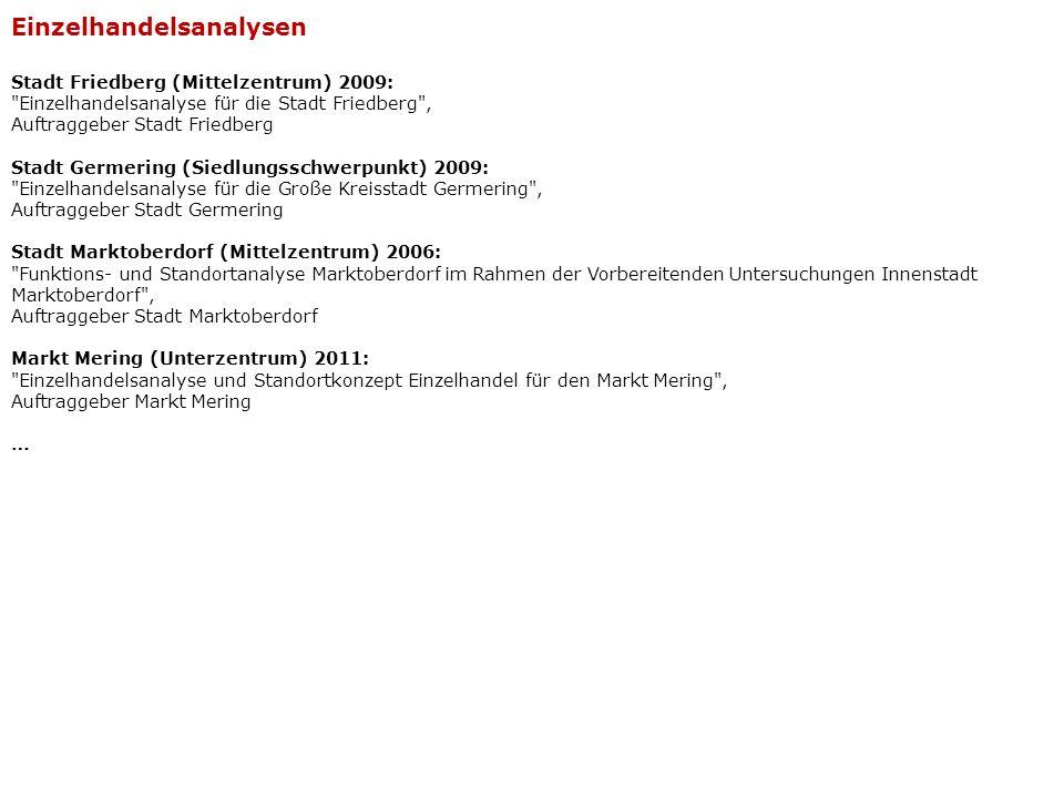 Stadt Friedberg (Mittelzentrum) 2009: