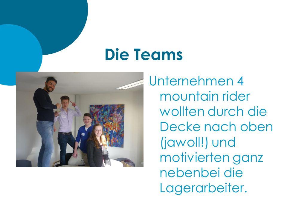 Die Teams Unternehmen 3 LueneBike legten neben dem Gewinn zeitweise auch Wert auf den humanen Umgang mit ihren Mitarbeitern – am Aussehen Ihres Fahrrades (siehe Bild) muss noch etwas gefeilt werden.