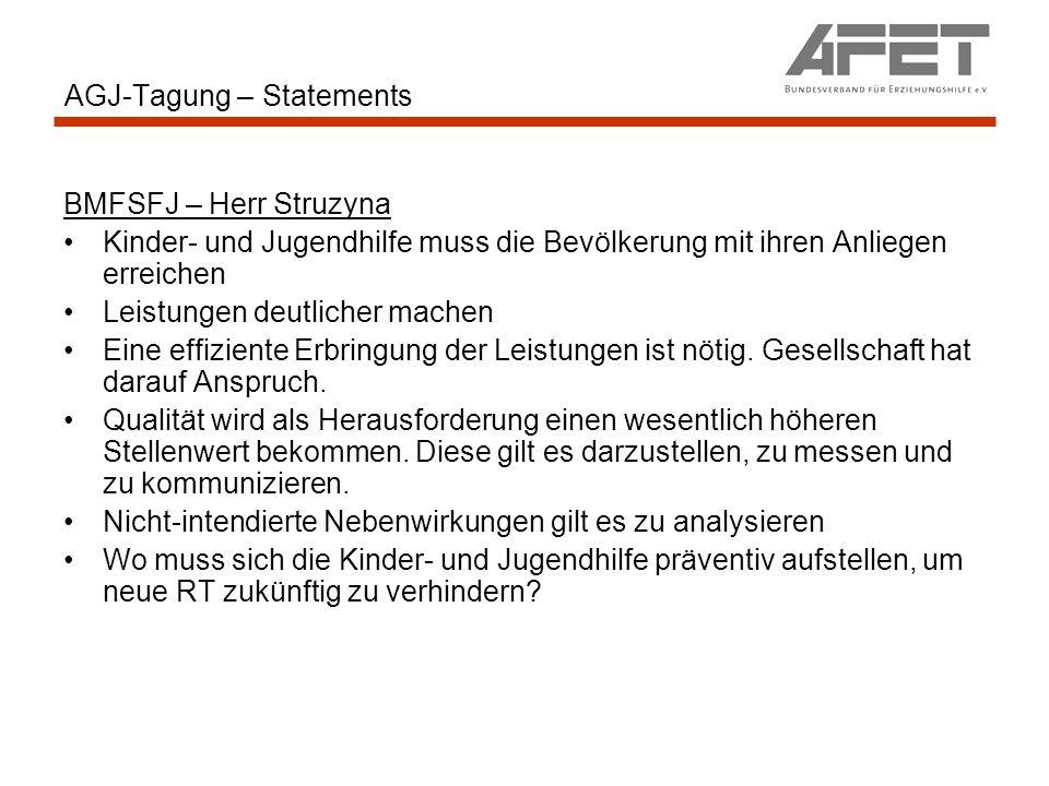 AGJ-Tagung – Statements Prof.Dr. Kutscher EDV/Medien: Offene Fragen: Standardisierung prof.