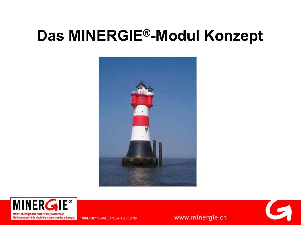 Das MINERGIE ® -Modul Konzept