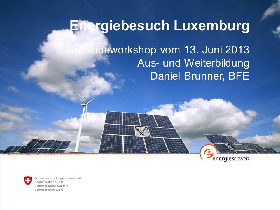 Energiebesuch Luxemburg Gebäudeworkshop vom 13.