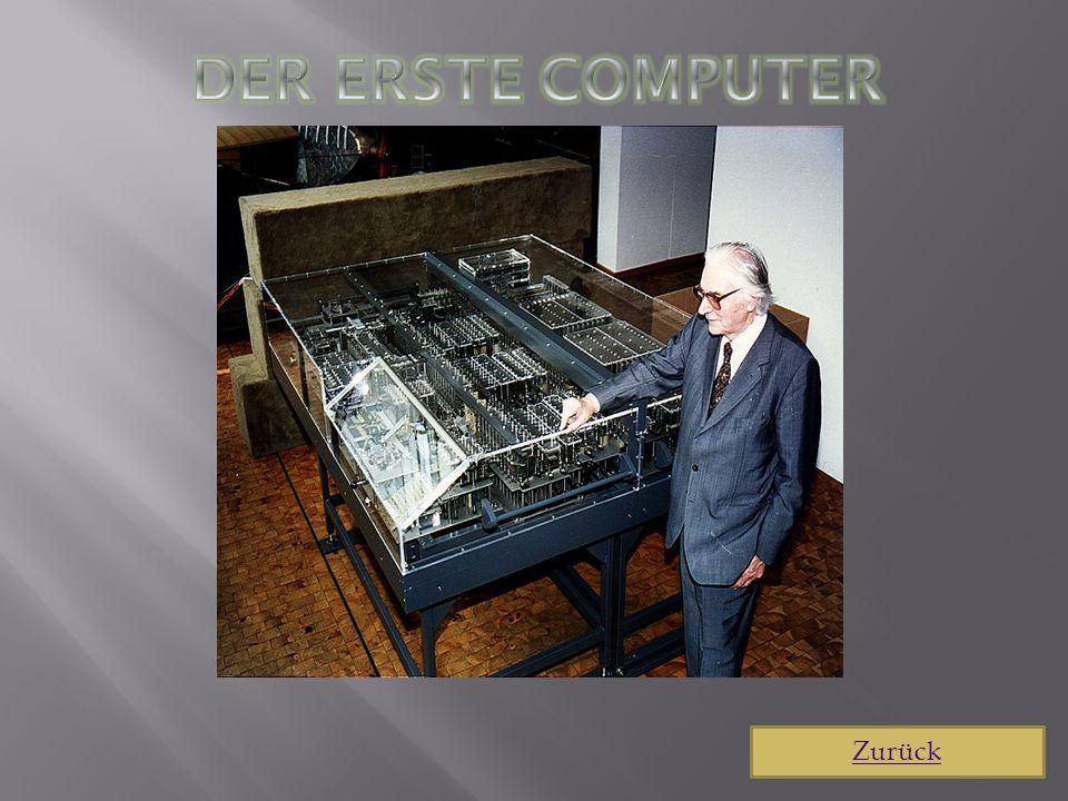 Computer der 70er Jahren 1970 - eine Revolution in der Computerwelt von Intel und Fairchild bewirkt.
