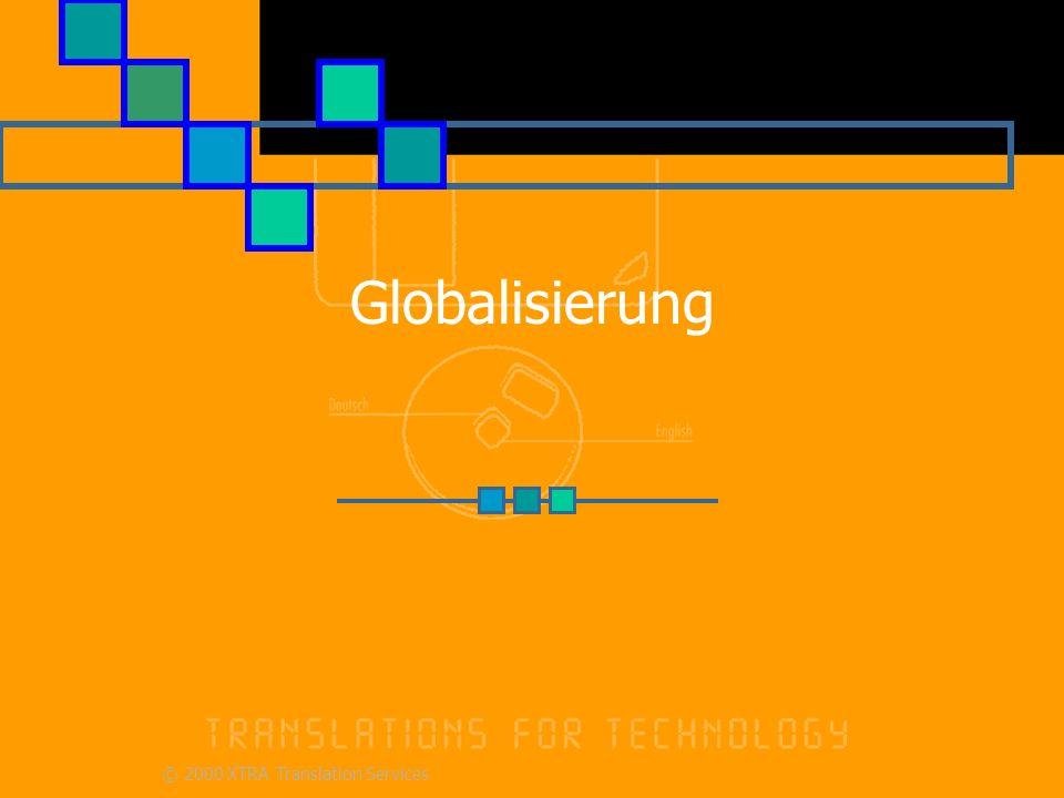 Going global - Strategie Globalisierung nach Land, nicht nach Sprache.