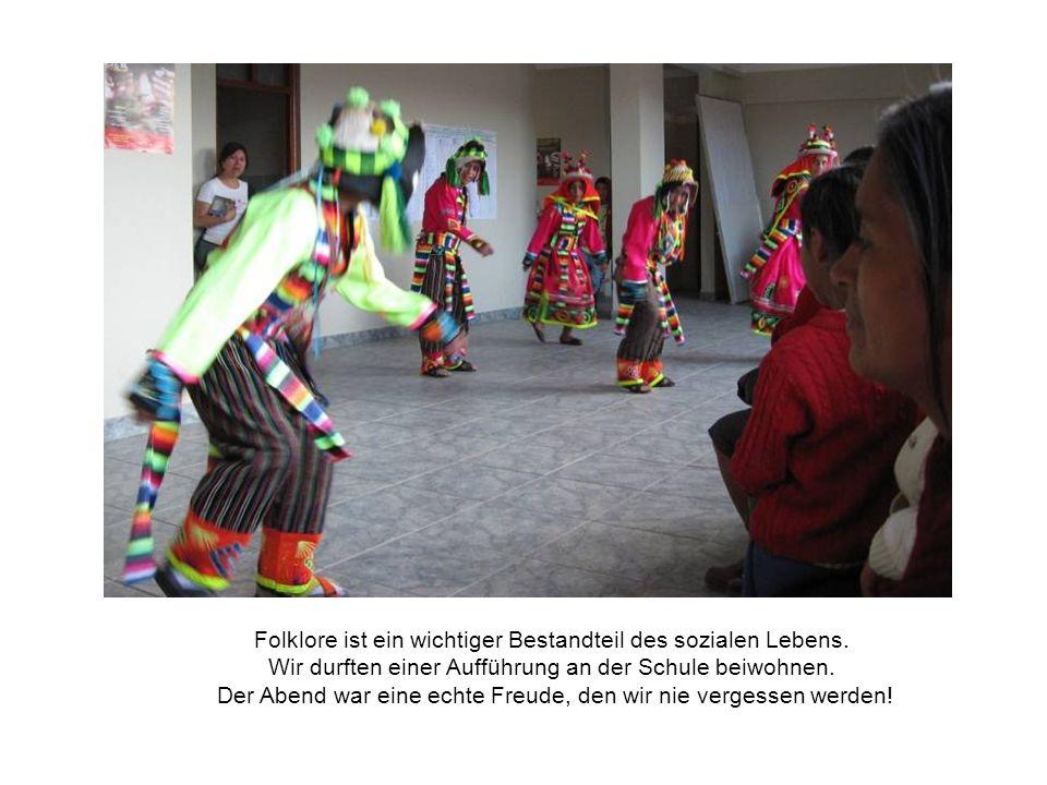 Folklore ist ein wichtiger Bestandteil des sozialen Lebens.